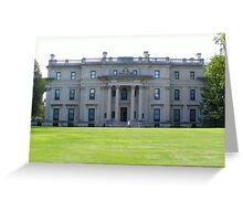 Vanderbilt Mansion- Hyde Park, NY Greeting Card