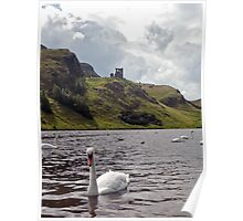 St. Anthony's Chapel from St Margaret's Loch Poster