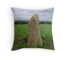 Standing Stone Throw Pillow