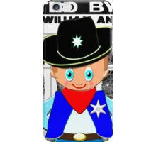 Toon Boy 12c Sheriff, Ready for any Emergency - all products iPhone Case/Skin