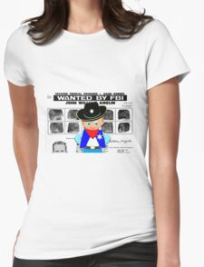 Toon Boy 12c Sheriff, Ready for any Emergency - all products Womens Fitted T-Shirt