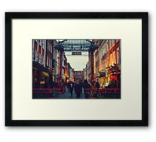 China Town Arch - London Framed Print