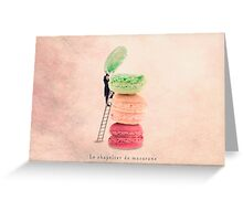 The macaroons hatter Greeting Card