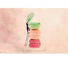 The macaroons hatter Photographic Print