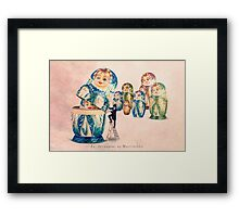The Matrioshka opener Framed Print