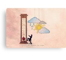 The weather maker Canvas Print