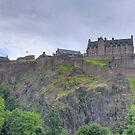 Edinburgh Castle II by Tom Gomez