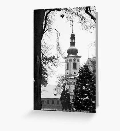 Chapel of the Revelation of the Lord, Smirice, Czech Republic Greeting Card