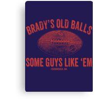 Brady's Old Balls Canvas Print