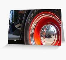 Ford Reflection Greeting Card