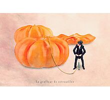 The pumpkin inflater Photographic Print