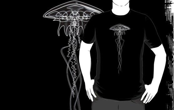 Medusa Black White by Mungo