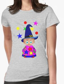 Wizards in Space - Toon Boy 6  Womens Fitted T-Shirt