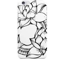 Lotus circle iPhone Case/Skin