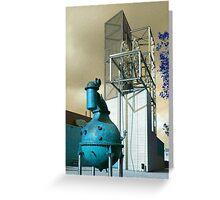 Industrion - strange reality Greeting Card