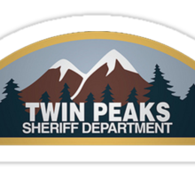 Twin Peaks Sheriff's Department Sticker