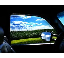 """""""What a view..."""" Photographic Print"""