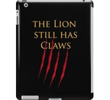 Lannister claws iPad Case/Skin