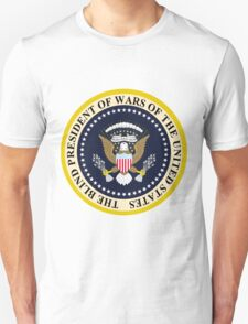 The Blind President of Wars of the United States T-Shirt