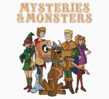 Mysteries & Monsters Kids Tee
