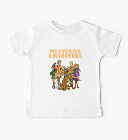 Mysteries & Monsters Baby Tee