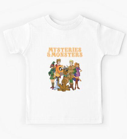 Mysteries & Monsters Kids Tee