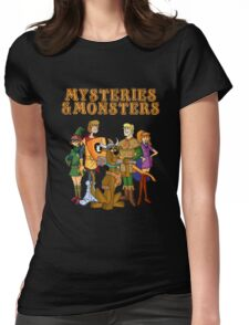 Mysteries & Monsters Womens Fitted T-Shirt