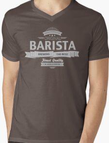 Original Barista Mens V-Neck T-Shirt