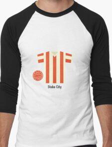 Stoke City Men's Baseball ¾ T-Shirt
