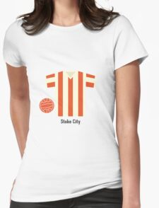 Stoke City Womens Fitted T-Shirt