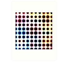 Dot field Art Print