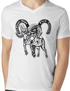 Aries star sign Mens V-Neck T-Shirt