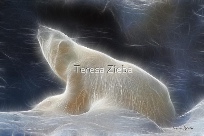The Spirit of The Polar Bear by Teresa Zieba