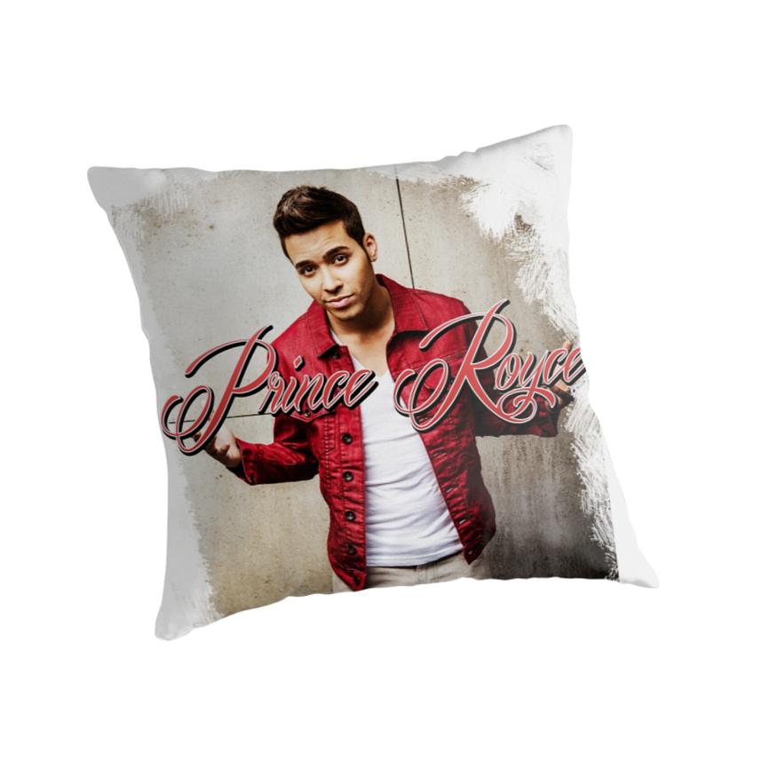 Prince royce 1 darte un beso quot throw pillows by ryderrz redbubble