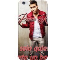 Prince Royce 1 - Darte un Beso  iPhone Case/Skin