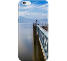 Lake Wörthersee jetty iPhone Case/Skin