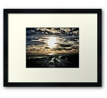 Knockanore Sunset Framed Print