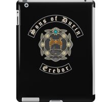 Sons of Durin Motorcycle Club iPad Case/Skin