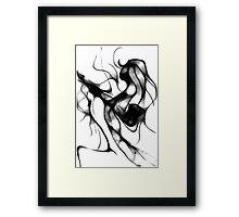 cool sketch 41 Framed Print