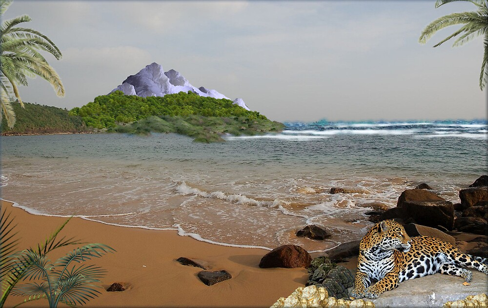 970-Jaguar Beach by George W Banks