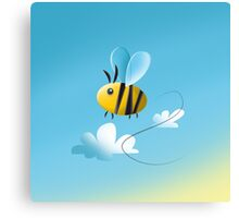 THE BEE - FARM COLLECTION Canvas Print