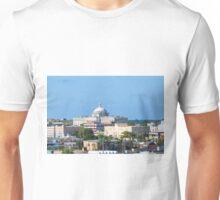 Coastal Buildings in San Juan Unisex T-Shirt