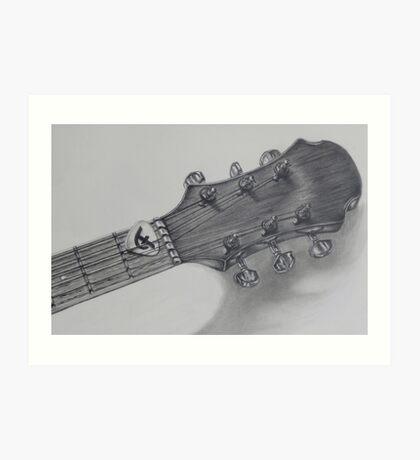 Feeling In Tune Art Print