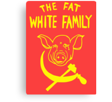 Fat White Family Canvas Print