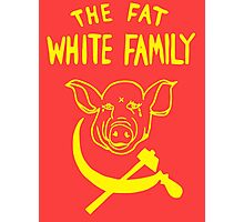 Fat White Family Photographic Print