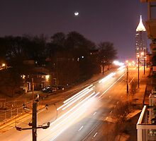 North Ave by Night by Harold Noe