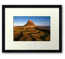 Holy Shadows Framed Print