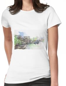 sketching leiyuemun Womens Fitted T-Shirt