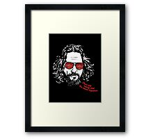 The Big Lebowski - The Dude Framed Print