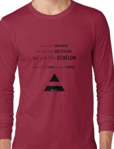 WE ARE. THIRTY SECONDS TO MARS Long Sleeve T-Shirt